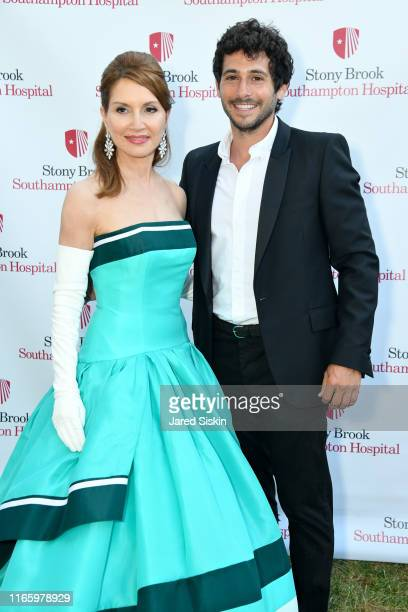 Jean Shafiroff and Jesse Warren attend the Annual Summer Party Benefiting Stony Brook Southampton Hospital on August 03, 2019 in Southampton, New...