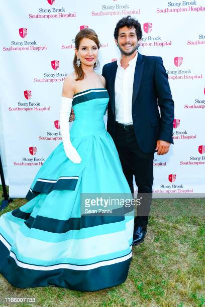 Jean Shafiroff and Jesse Warren attend the Annual Summer Party Benefiting Stony Brook Southampton Hospital on August 03 2019 in Southampton New York