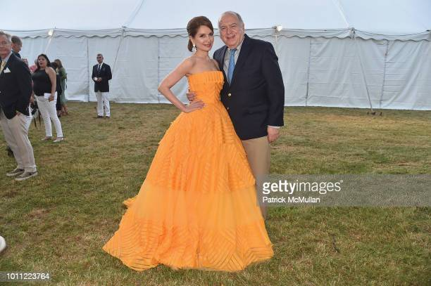 Jean Shafiroff and Martin D Shafiroff attend the 60th Annual Summer Party For Stony Brook Southampton Hospital on August 4 2018 in Southampton New...