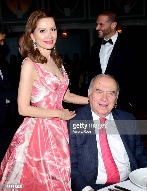 Jean Shafiroff and Martin D Shafiroff attend the Dominican Women's Development Center's 31st Anniversary Fund Gala at New York Hilton on October 16...