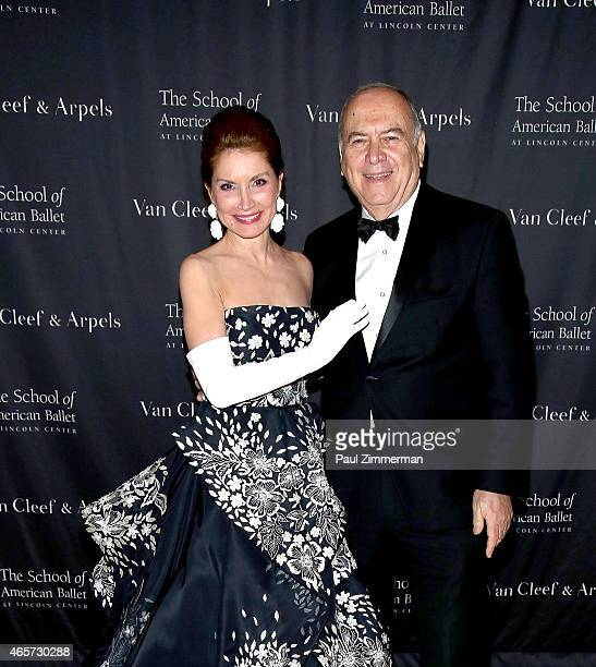 Jean Shafiroff and Martin D Shafiroff attend the School of American Ballet 2015 Winter Ball at David H Koch Theater at Lincoln Center on March 9 2015...