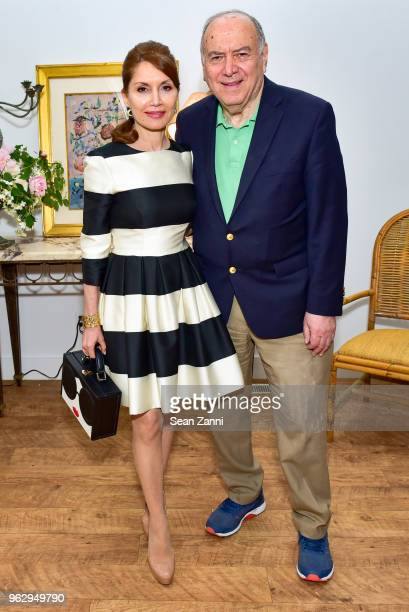 Jean Shafiroff and Martin Shafiroff attend ARF Thrift Shop Designer Show House Sale at ARF Thrift Treasure Shop on May 26 2018 in Sagaponack New York