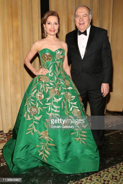 Jean Shafiroff and Martin Shafiroff attend The 64th Annual Viennese Opera Ball Chaired By Jean Shafiroff at Cipriani 42nd Street on February 01, 2019...