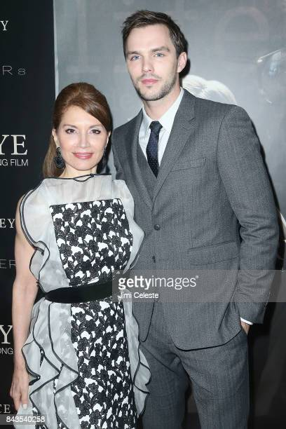 Jean Shafiroff and Nicholas Hoult attend 'Rebel in the Rye' Screening and After Party hosted by Jean Shafiroff at Metrograph on September 6 2017 in...