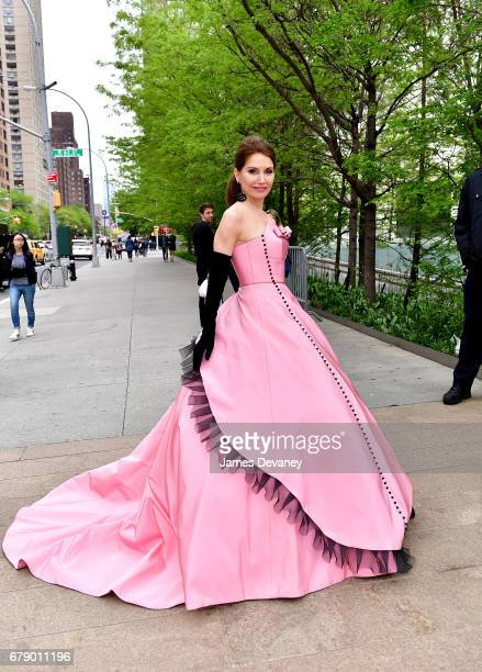 Jean Shafiroff arrives to The New York City Ballet 2017 Spring Gala at David H Koch Theater at Lincoln Center on May 4 2017 in New York City