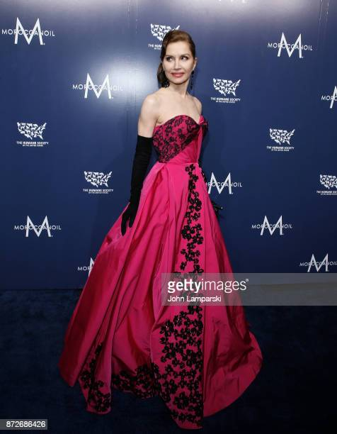 Jean Shafiroff attends 2017 Humane Society of The United States to the Rescue New York Gala at Cipriani 42nd Street on November 10 2017 in New York...