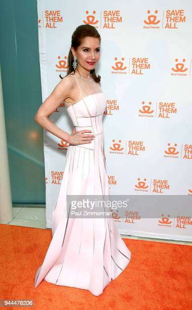Jean Shafiroff attends 3rd Annual Best Friends Animal Society New York City Gala at Guastavino's on April 10 2018 in New York City