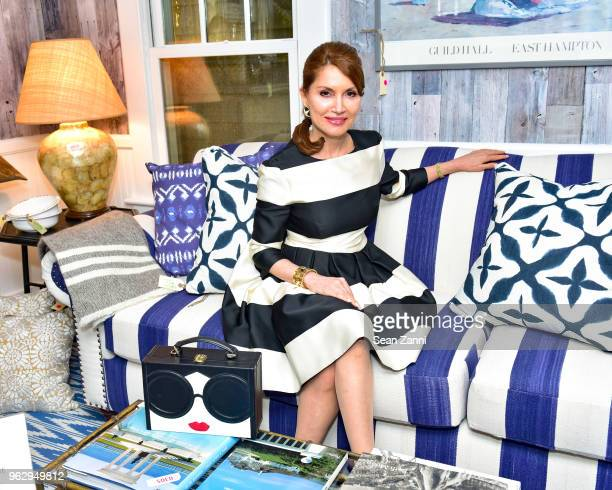 Jean Shafiroff attends ARF Thrift Shop Designer Show House Sale at ARF Thrift Treasure Shop on May 26 2018 in Sagaponack New York