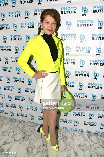 Jean Shafiroff attends Jean Shafiroff George Wayne and Hillary Latos Host Party for Photo Butler at Rose Hill on September 11 2017 in New York City