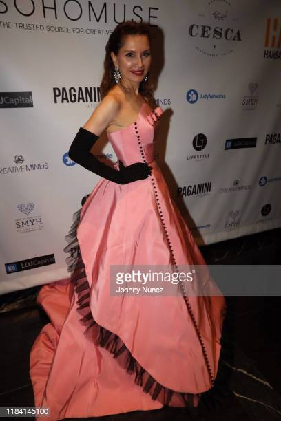 Jean Shafiroff attends Paganini Honors Paganini at Ascent Lounge on October 28 2019 in New York City