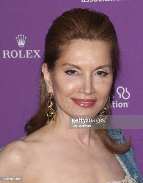 Jean Shafiroff attends the 35th Annual Alzheimer's Association Rita Hayworth Gala at Cipriani 42nd Street on October 23 2018 in New York City