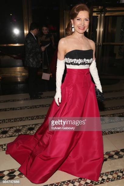 Jean Shafiroff attends The Endometriosis Foundation of America Celebrates their 9th Annual Blossom Ball Honoring SingerSongwriter Halsey on March 19...