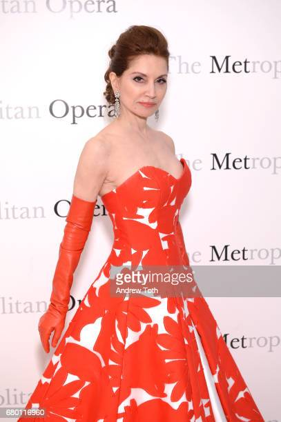 Jean Shafiroff attends The Metropolitan Opera 50th Anniversary Gala at The Metropolitan Opera House on May 7 2017 in New York City