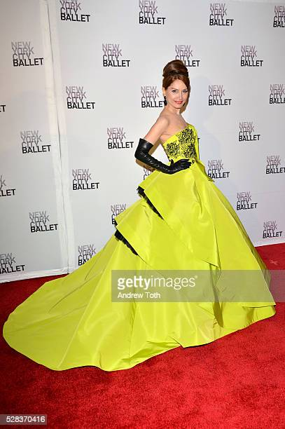Jean Shafiroff attends the New York City Ballet's Spring Gala on May 04 2016 in New York New York