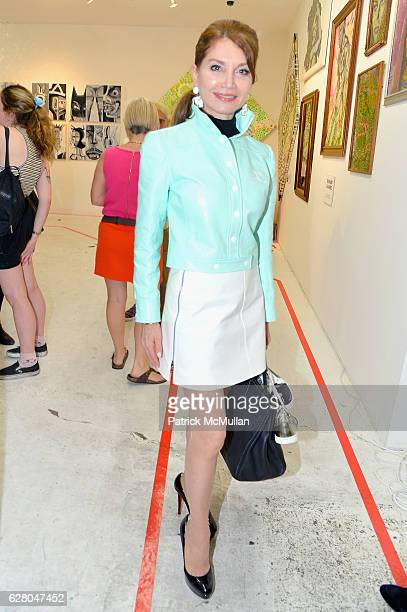 Jean Shafiroff attends the Patricia Field Art Basel Debut with Art Fashion Pop Up and Runway Presentation at The White Dot Gallery in Wynwood on...