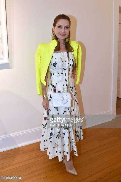 """Jean Shafiroff attends the release of Christophe von Hohenberg's new book """"The White Album of The Hamptons"""" and Bruce Helander's """"Collages and Erased..."""