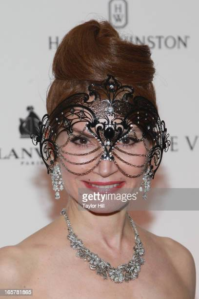 Jean Shafiroff attends the Save Venice Masked Ball 2013 on April 5 2013 in New York United States