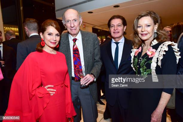 Jean Shafiroff Donald Tober Edgar Batista and Margo Langenberg attend Friends of Budapest Festival Orchestra Gala 2018 at David Geffen Hall on...