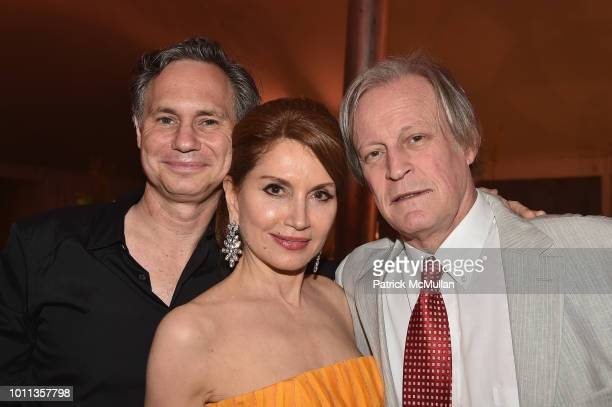 Jean Shafiroff Jason Binn and Patrick McMullan attend the 60th Annual Summer Party For Stony Brook Southampton Hospital on August 4 2018 in...