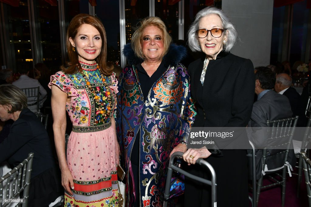 Jean Shafiroff, Joanna Fisher and Barbara Tober attend The Museum of Arts and Design (MAD) Presents
