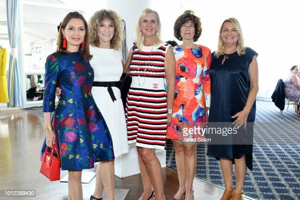 Jean Shafiroff Julie Ratner Ruth Miller Elisa Greenbaum and Deborah Halpert attend Hadassah Honors Jean Shafiroff As Woman Of The Year at Oceanbleu...