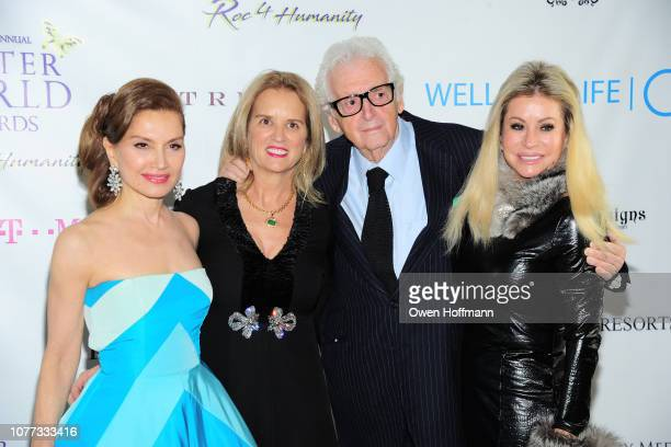Jean Shafiroff Kerry Kennedy Harry Benson and Gail Evertz attend Wells Of Life Charity Benefits At The 8th Annual Better World Awards Event...