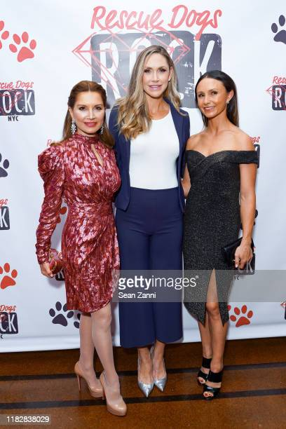 Jean Shafiroff, Lara Trump and Georgina Bloomberg attend Rescue Dogs Rock NYC Celebrates Their 2nd Annual Gala To Raise Funds & Awareness To Help...