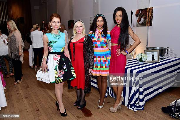 Jean Shafiroff Lisa Berenger Dawne Marie Grannum and Elena Ayot attend The Southampton Animal Shelter Foundation and Jean Shafiroff Celebrate Third...