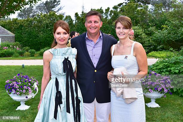 Jean Shafiroff Mark Epley and Anna ThroneHolst attend Southampton Animal Shelter Foundation's 7th Annual Unconditional Love Dinner Dance 2016 at...