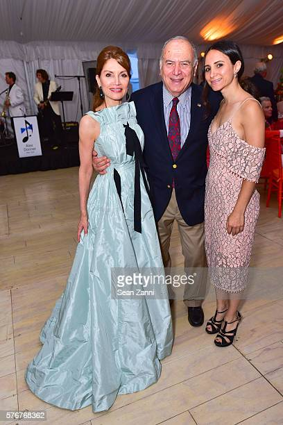 Jean Shafiroff Martin Shafiroff and Elizabeth Shafiroff at Southampton Animal Shelter Foundation's 7th Annual Unconditional Love Dinner Dance 2016 at...