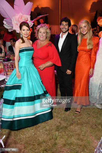 Jean Shafiroff, Rebecca Seawright, Jesse Warren and Martyna Sokol attend the Annual Summer Party Benefiting Stony Brook Southampton Hospital on...