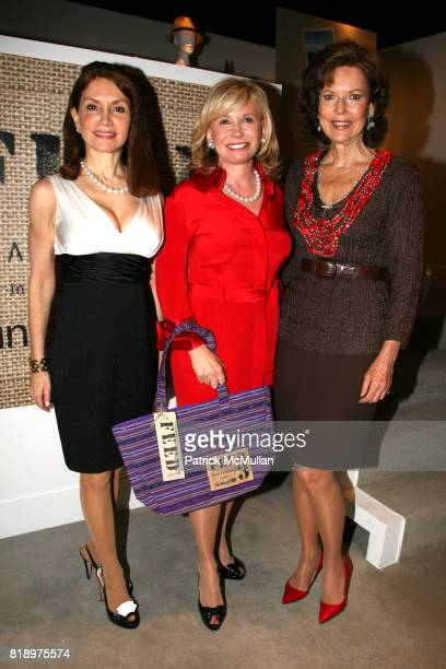 Jean Shafiroff Sharon Bush and Margo Langenberg attend LORD TAYLOR Mother/Daughter Tea for FEED with LAUREN BUSH and ELLEN GUSTAFSON at Lord Taylor...