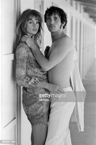 Jean Shrimpton and Terence Stamp in Italy August 1966