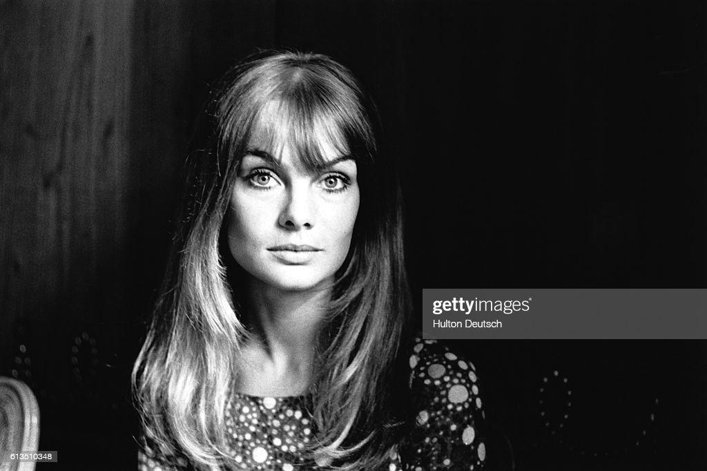 Jean Shrimpton the fashion model, 1966.