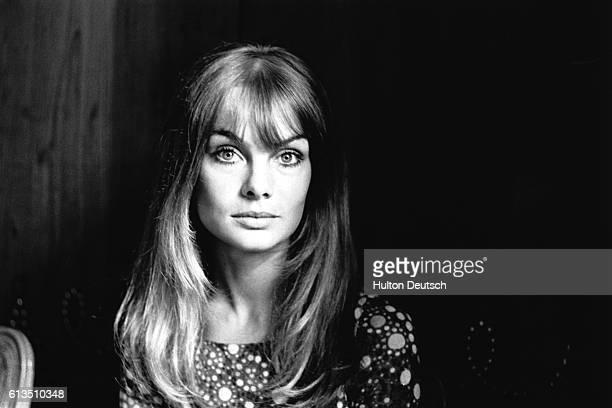 Jean Shrimpton the fashion model 1966
