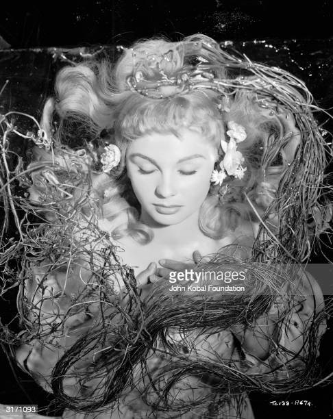 Jean Simmons as the drowned Ophelia in 'Hamlet' a Two Cities/Pilgrim Pictures production directed by Laurence Olivier
