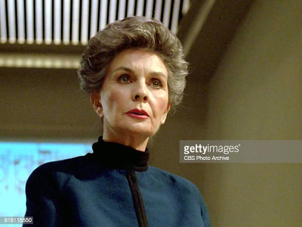 Jean Simmons plays Rear Admiral Norah Satie on the STAR TREK THE NEXT GENERATION episode The Drumhead Air date April 29 1991 Season 4 episode 21...