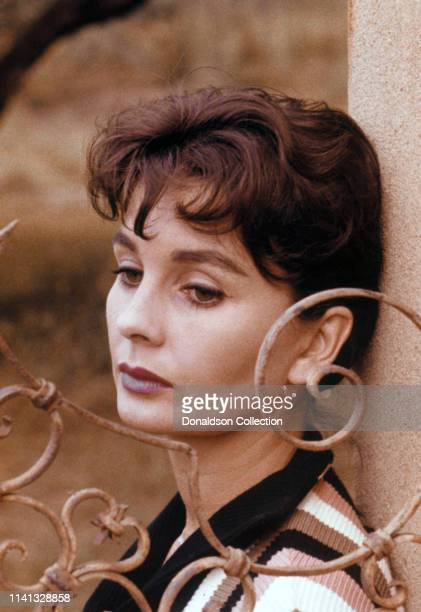 Jean Simmons poses for a portarait in 1959