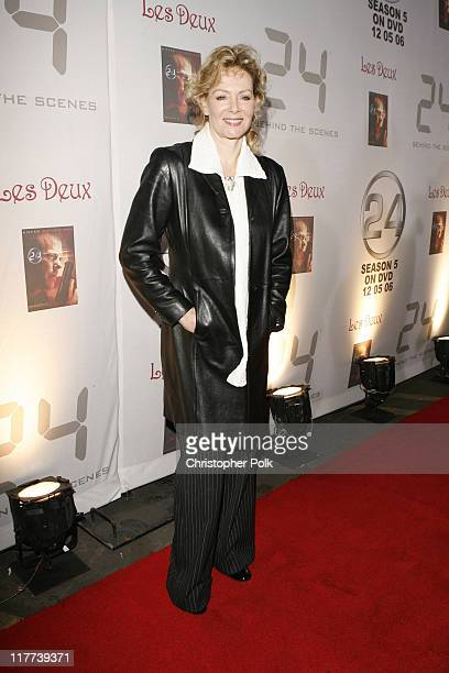 Jean Smart during '24' Season Five DVD Release at Les Deux in Hollywood California United States