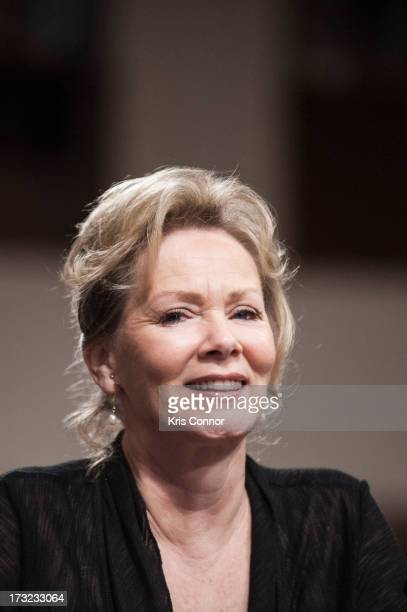 Jean Smart testifies during the Diabetes Research Reducing the Burden of Diabetes at all Ages hearing at G50 Dirksen Building on July 10 2013 in...