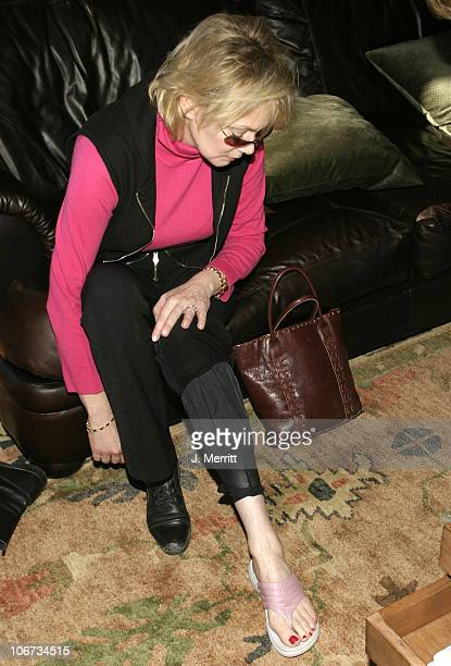 Jean Smart with Hush Puppies during 2004 Sundance Film Festival Hot House Day 3 at Deer Valley Private Residence in Deer Valley Utah United States
