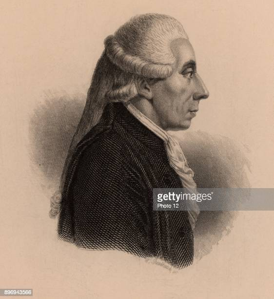 Jean Sylvain Bailly French astronomer and politician President of National Assembly Mayor of Paris 178990 Guillotined in French Revolution Engraving...