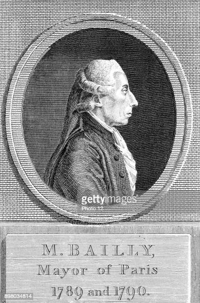 Jean Sylvain Bailly French astronomer and politician President of National Assembly Mayor of Paris 178990 Guillotined in French Revolution...