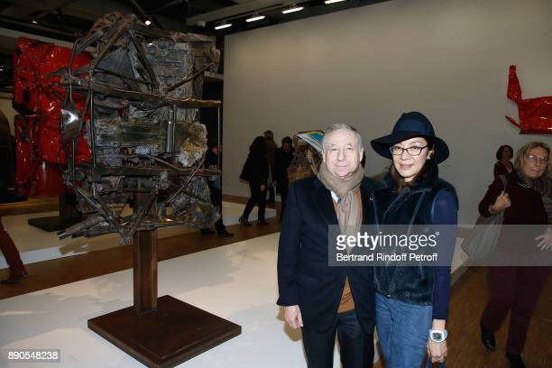 Jean Todt and Michelle Yeoh attend the Cesar Retrospective at Centre Pompidou on December 11 2017 in Paris France