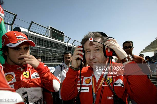 Jean Todt Felipe Massa Grand Prix of Bahrain Bahrain International Circuit 12 March 2006