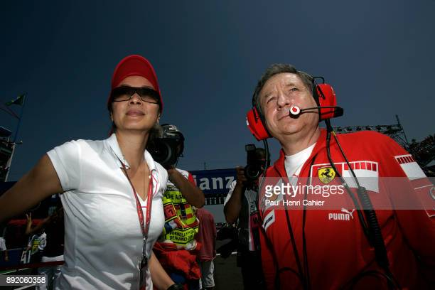 Jean Todt Michele Yeoh Grand Prix of France Circuit de Nevers MagnyCours 16 July 2006