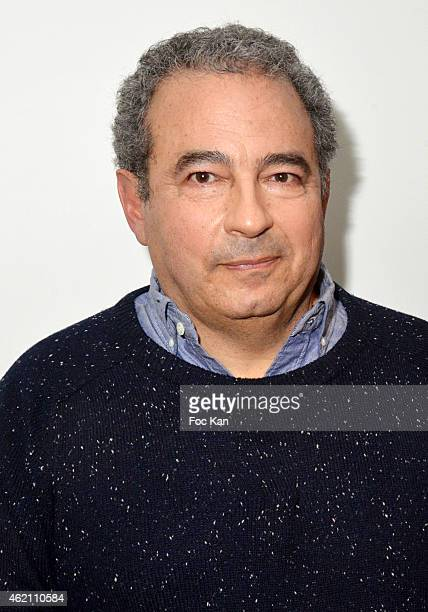 Jean Touitou attends the APC Menswear Fall/Winter 20152016 show as part of Paris Fashion Week on January 24 2015 in Paris France