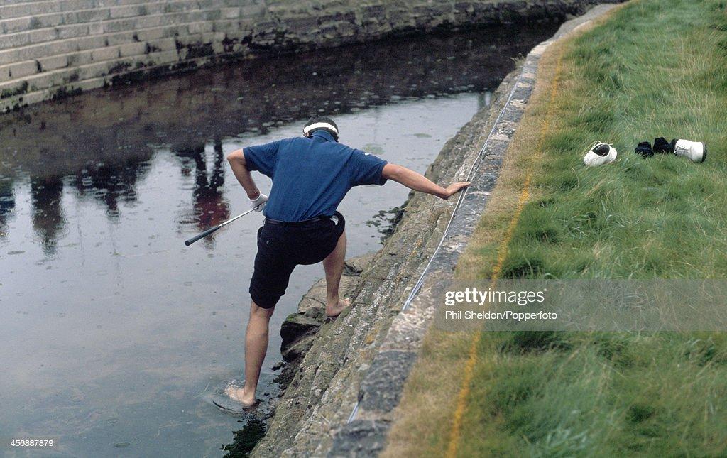 Jean Van De Velde During The British Open : News Photo