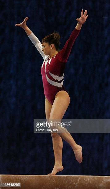 Jeana Rice of Alabama in action at the 2004 NCAA Championship Individual Finals at Pauley Pavilion in Westwood California April 17