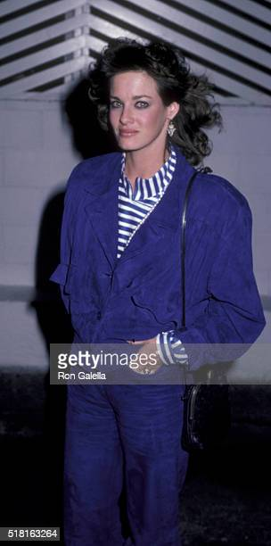 Jeana Thomasino sighted on January 10 1986 at Spago Restaurant in West Hollywood California